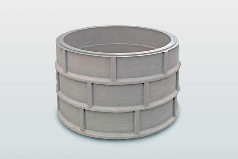 Полимерно песчаный колодец – устройство, сырьевой материал, технология изготовления, плюсы и минусы