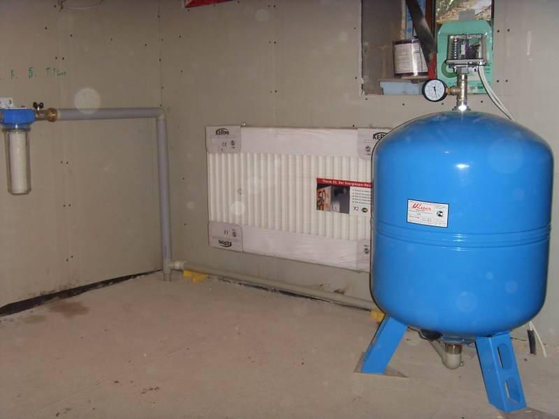 Гидроаккумулятор для систем водоснабжения — устройство