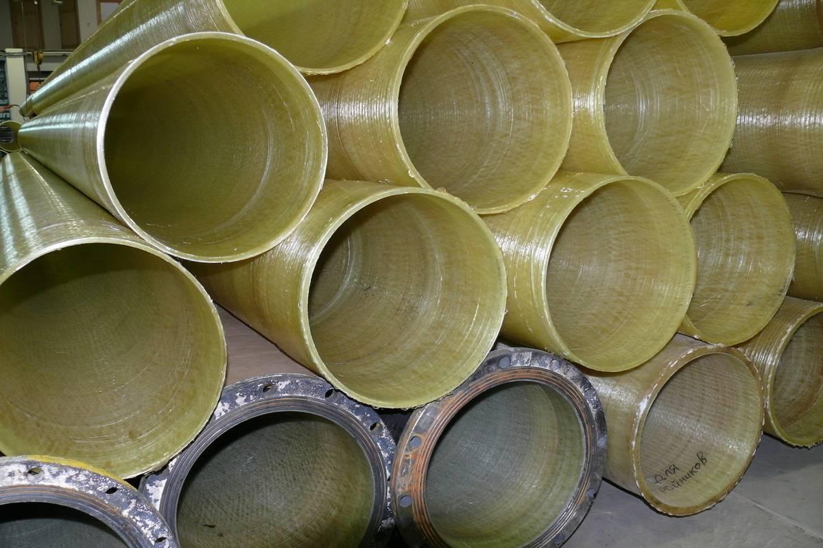 Стеклопластиковые трубы: новые технологии обработки, цена и недостатки