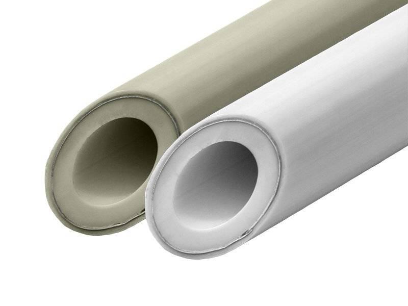 Труба армированная стекловолокном   полипропиленовая для отопления