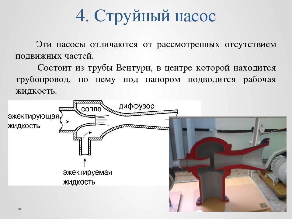 Инжекторный насос: принцип работы насоса для откачивания шлама или воды, как сделать устройство своими руками и отзывы об этом