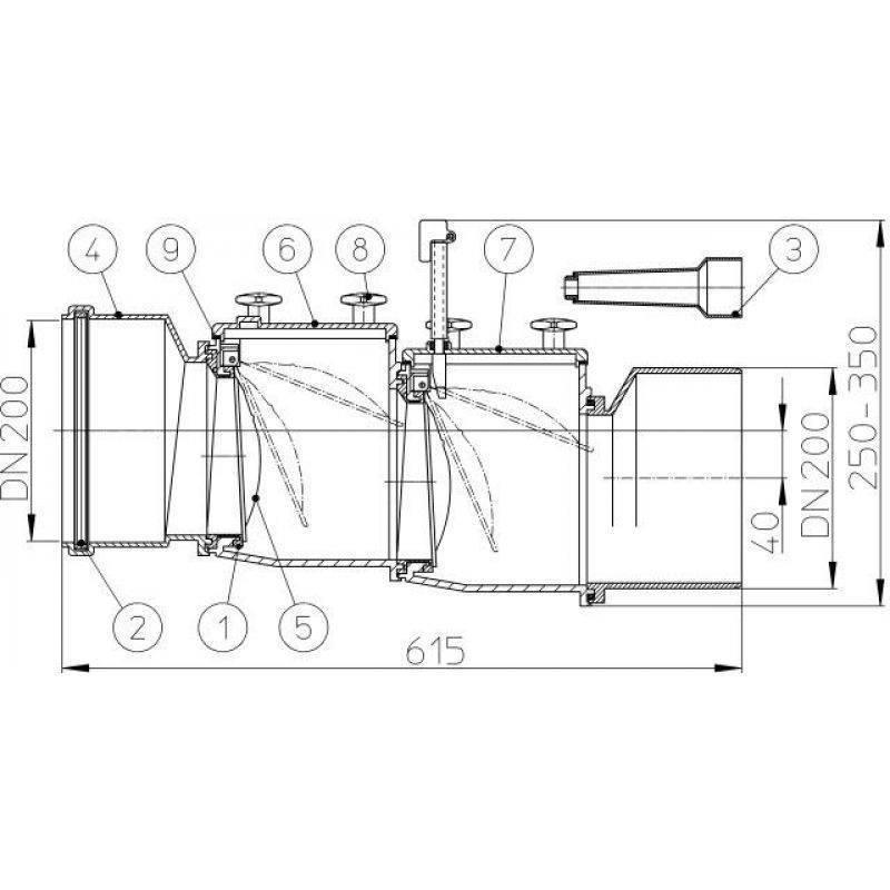 Гидрозатвор для канализации — элемент сантехнического оборудования