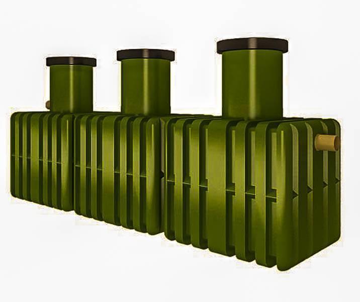 Принцип работы септика танк - устройство, установка