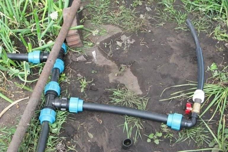 Капельный полив своими руками из полипропиленовых труб