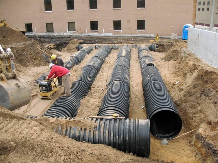 Как с помощью пнд труб осуществить монтаж наружного водопровода?