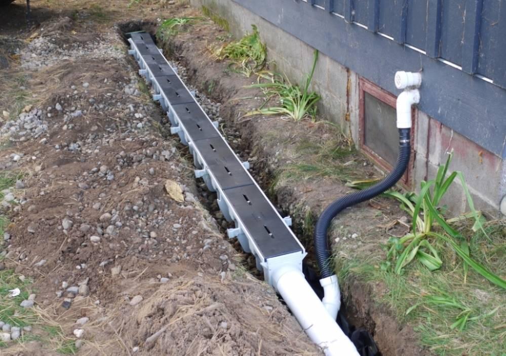 Ливневые (дождевые) лотки бетонные для канализации: жби, с решеткой