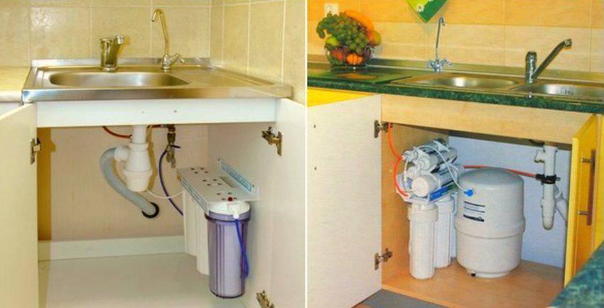 Как установить фильтр для воды?