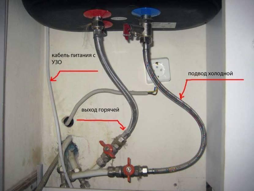 ? как слить воду с водонагревателя