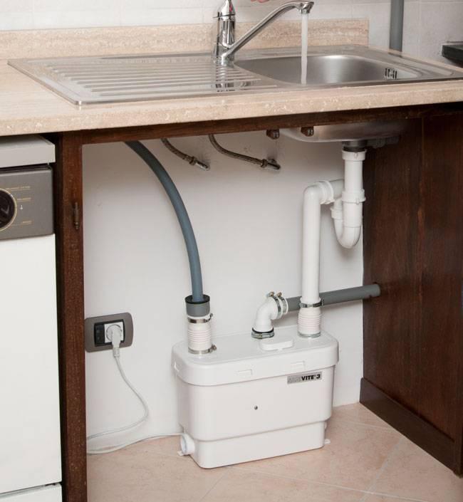 Солофит и другие канализационной насосы для принудительной канализации
