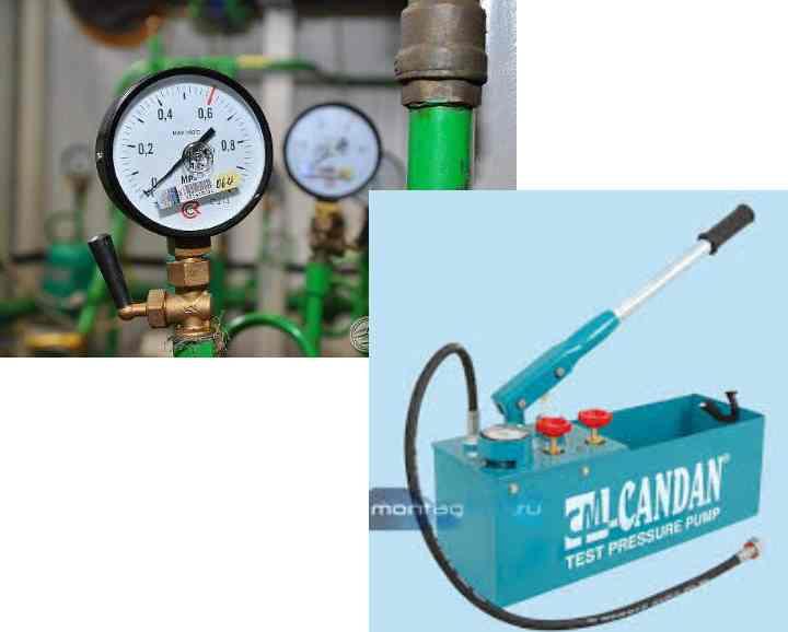 Испытание систем канализации, проверка на прочность и герметичность
