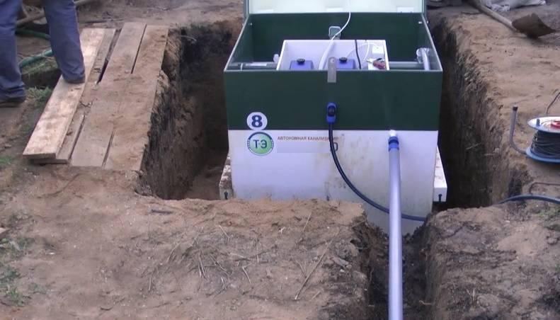 Слив из септика: варианты отвода очищенной воды