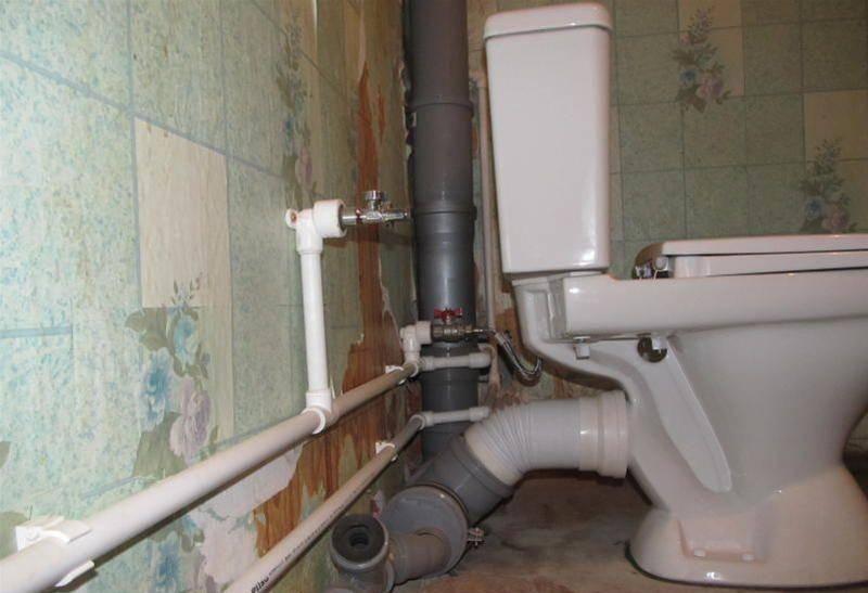 Замена канализационных труб своими руками