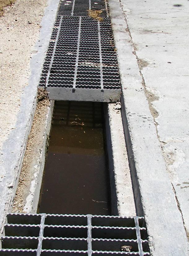 Бетонные лотки для ливневой канализации: устройство