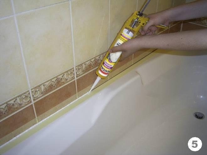 Как избавиться от плесени в ванне: популярные способы