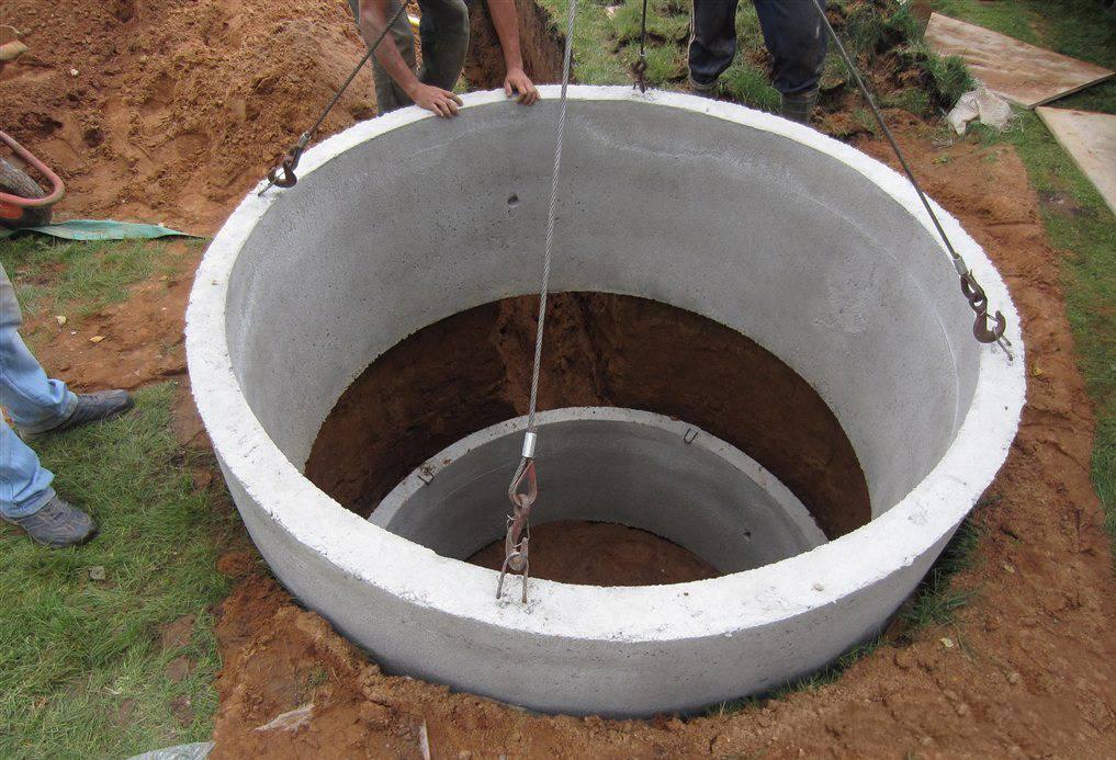 Устройство дренажного колодца из бетонных колец — как сделать конструкцию для дренажа