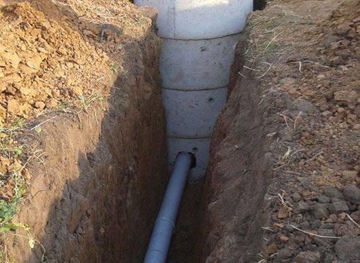 Глубина заложения канализационных труб - прокладка в частном доме