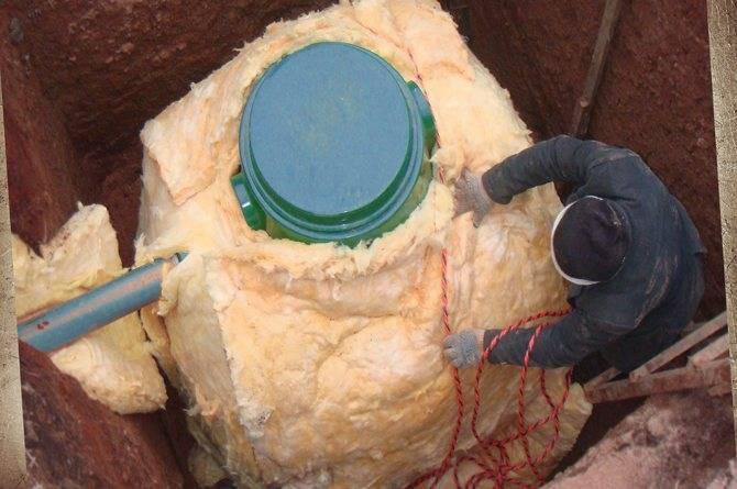 Септик топаз: принцип работы зимой, правила утепления