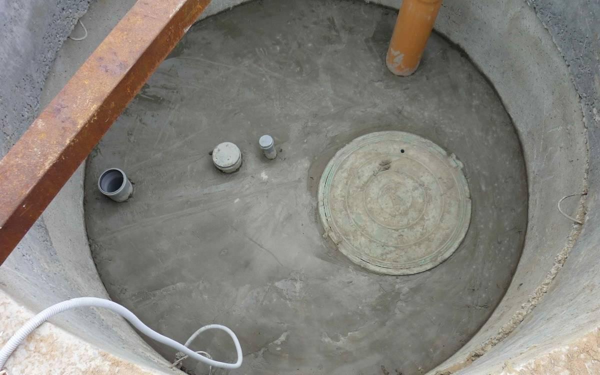 Вентиляция септика из бетонных колец - все о канализации
