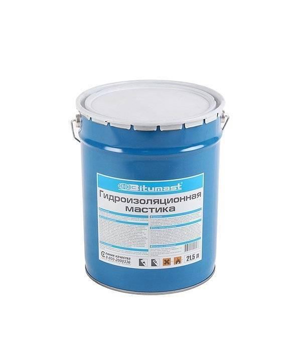 Жидкая гидроизоляция для пола - битумная обмазочная мастика