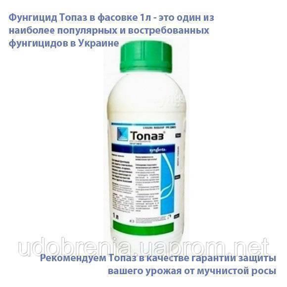 Фунгицид топаз