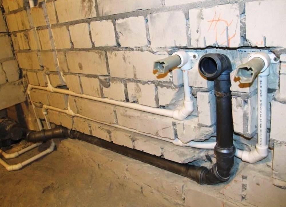 Как спрятать канализационные трубы на кухне гипсокартоном