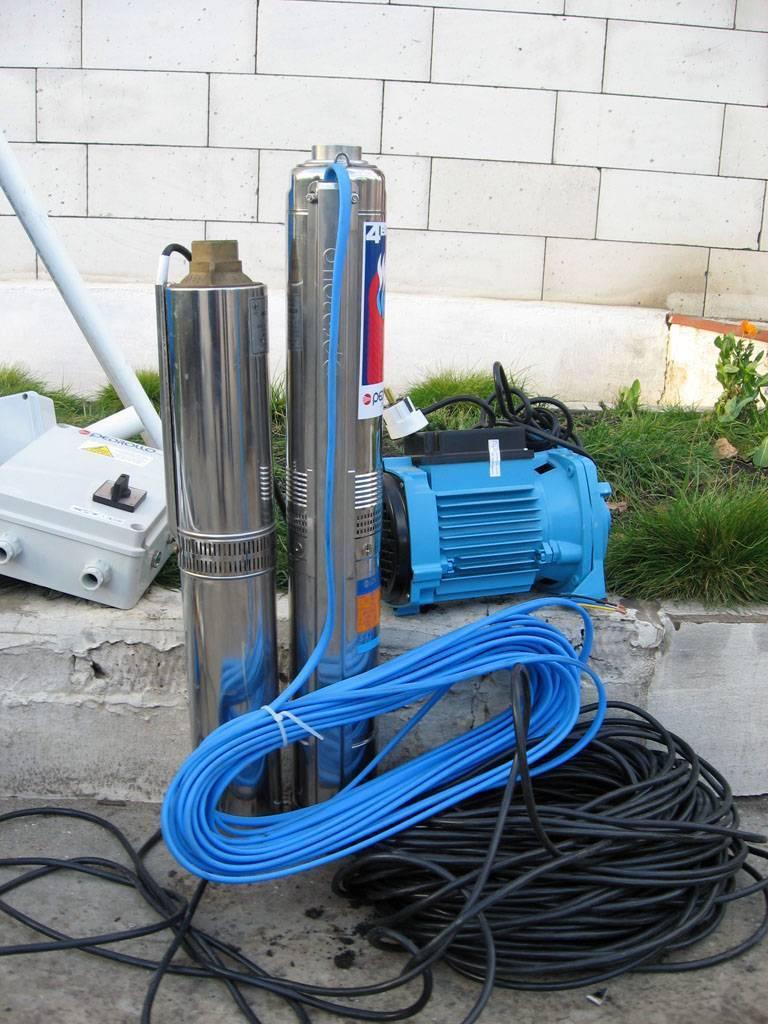 Какой насос выбрать для скважины на 15 метров?