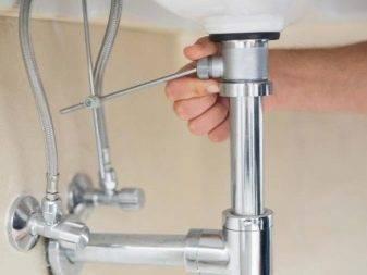 Донный клапан для раковины без перелива: устройство и установка