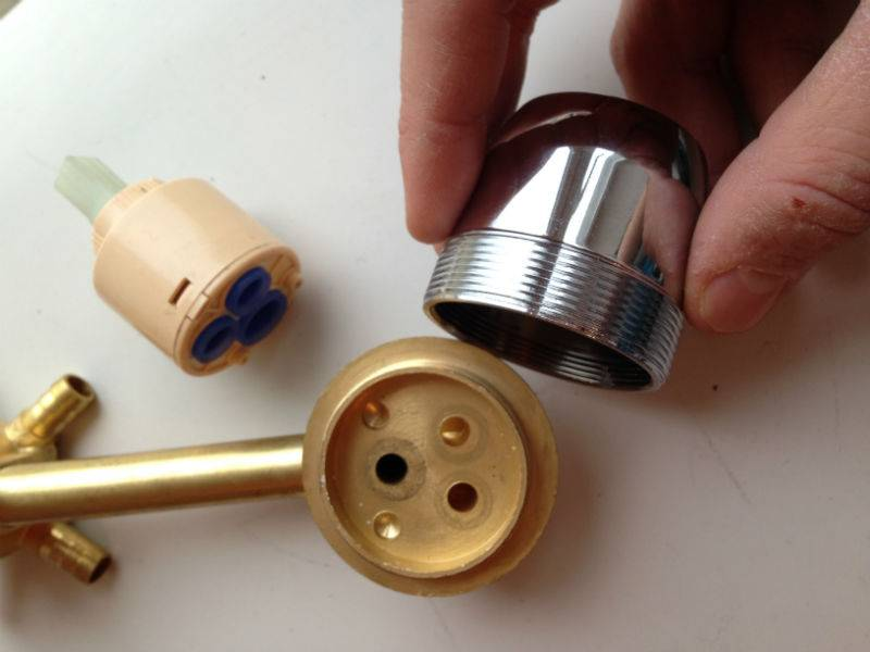 Картридж для смесителя — замена, размеры, разновидности, ремонт, как выбрать