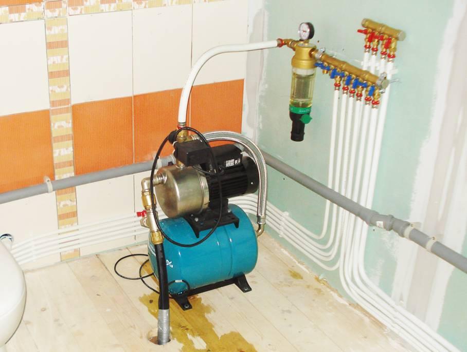 Насосная станция для частного дома: выбор и установка | гидро гуру