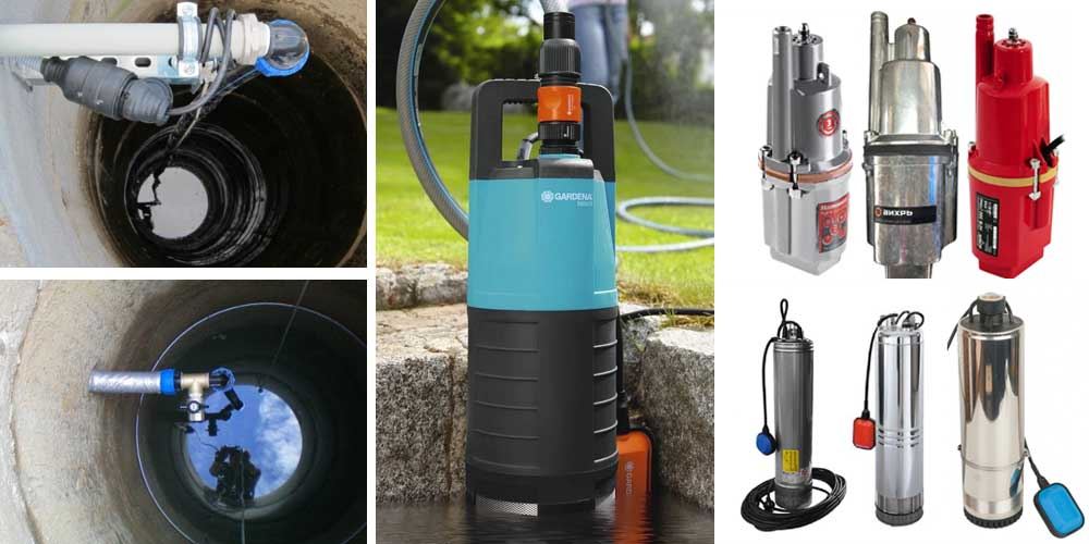 Типы погружных насосов: центробежный, фекальных, для скважин, вихревой