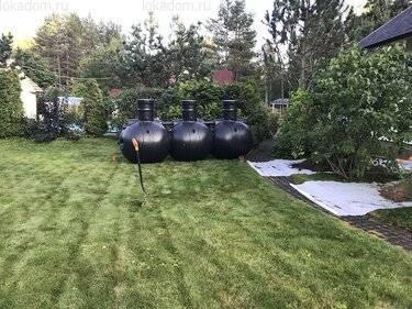 Септик «упонор» - контролируемая система очистки канализационных вод