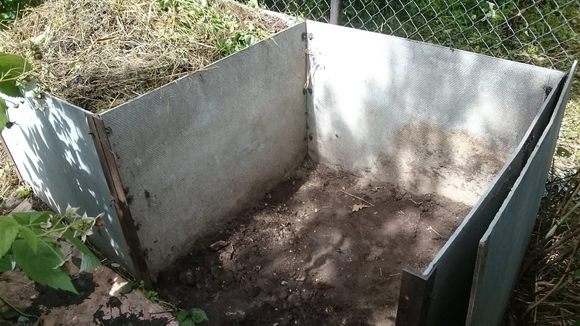 Компостная яма своими руками: варианты изготовления на даче