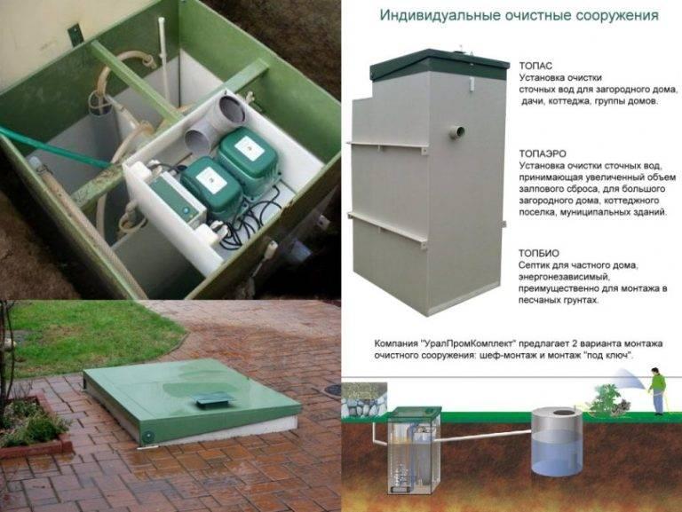 Септик топас: схема устройства и принцип работы