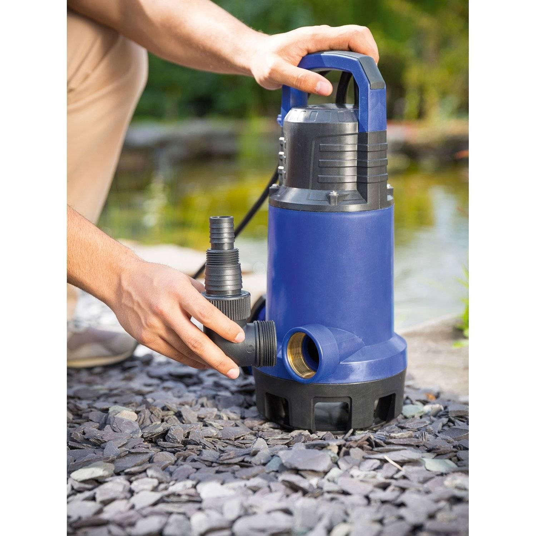 Дренажные погружные насосы для откачки воды из колодца