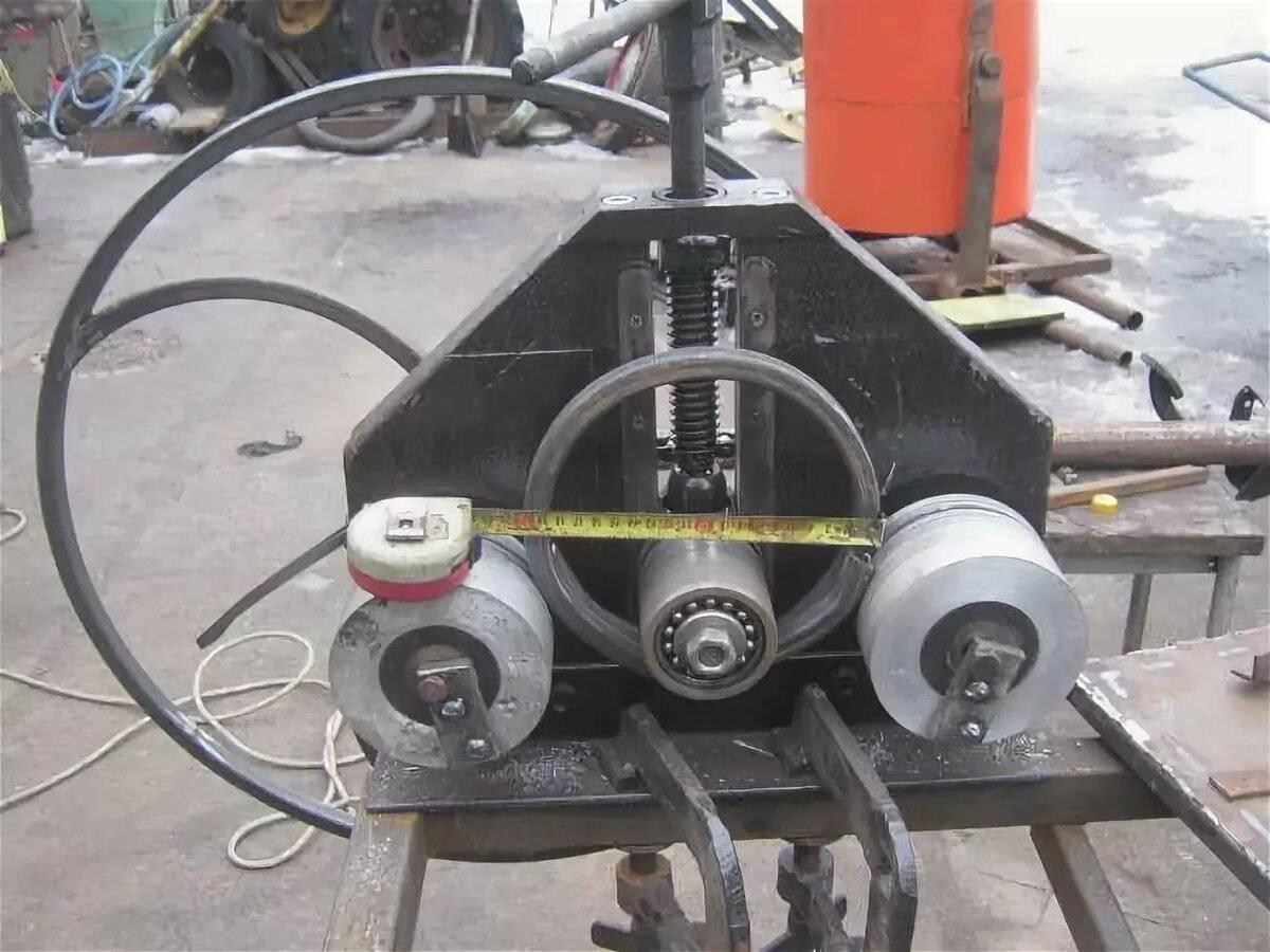 Изготовление станка, предназначенного для гибки профильных труб