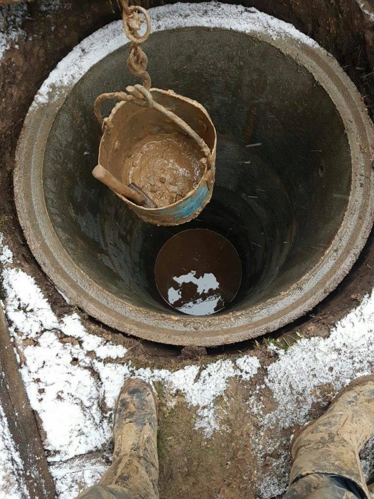 Чистка колодцев | цены на чистку колодцев | сколько стоит почистить колодец на даче?