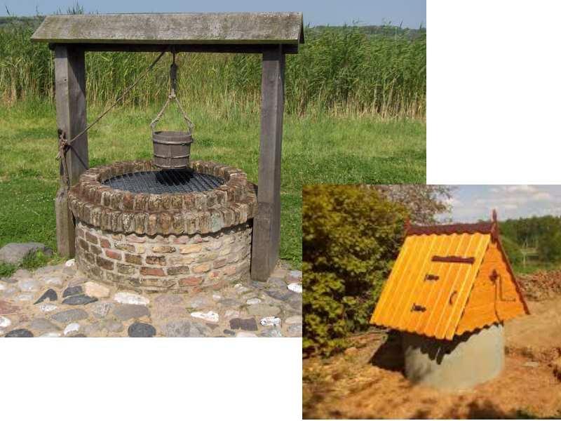 Колодец на даче: разновидности колодцев для дачи и технология строительства