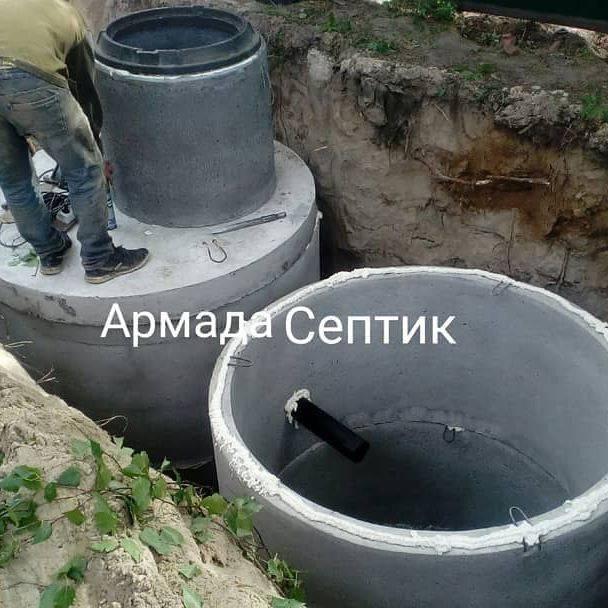Монтаж и установка: септиков для дома и дачи с обустройством под ключ- доставка москва, область, спб