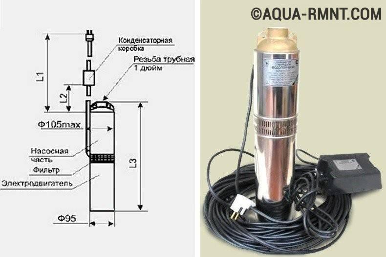 Вибрационный насос «водолей»: характеристики, плюсы и минусы. серия насосов с уменьшенным расходом воды