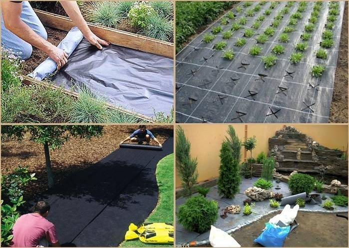 Геотекстиль для дачи и садоводства: особенности применения.