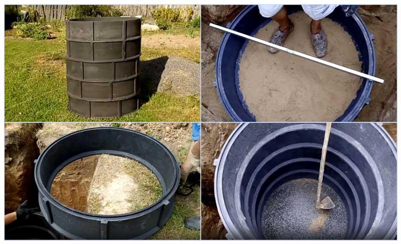 Как сделать пластиковый колодец для питьевой воды на участке?