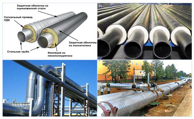 Изоляция труб нефтепроводов
