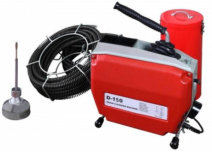 Оборудование для прочистки канализации: какая есть машина, аппарат, крот, шланг