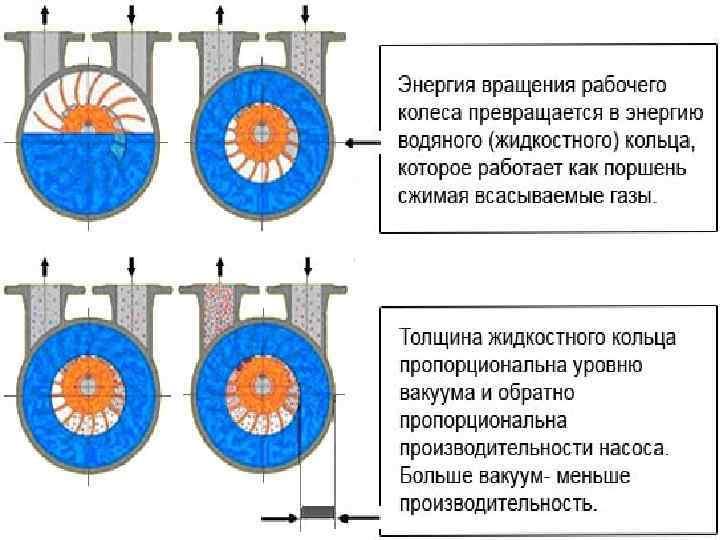 Устройство вакуумного насоса и принцип работы