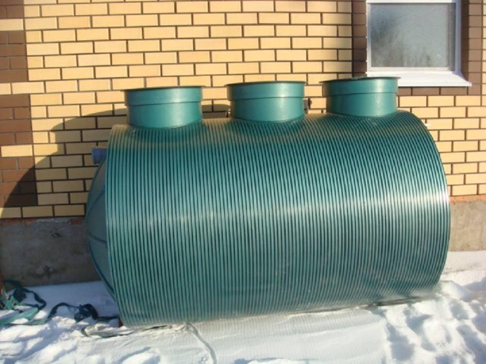 Накопительный септик для дачного дома: выбор и установка