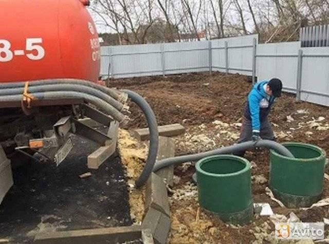 Откачка канализации в частном доме: как откачать, выкачка