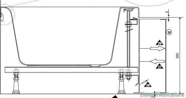 Ванна с гидромассажем, гидромассажная ванна своими руками — фото и видео инструкция