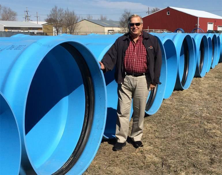 Пластиковые трубы пвх от компании полимерстрой