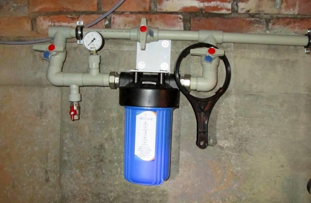 Установка фильтра грубой очистки воды: советы по монтажу первичного грязевика - vodatyt.ru