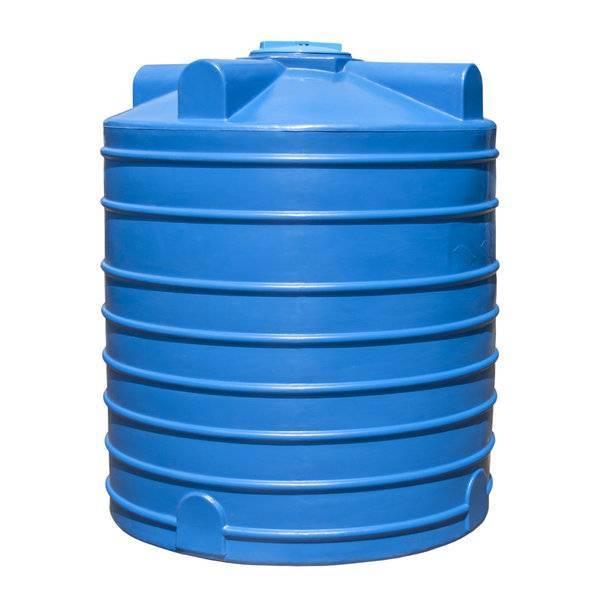 Горизонтальные емкости для воды пластиковые | резервуары в москвe